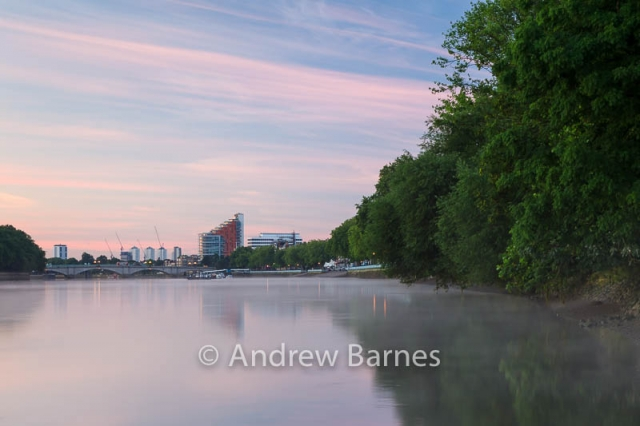 The Thames at Putney, just before dawn